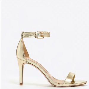 Jcrew Metallic High Heel Sandals(EUC)